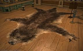 pm bear skin rug ikea faux