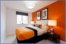 Orange Bedroom Decorating Ideas Of goodly Images About Orange Bedroom On  Pinterest Contemporary