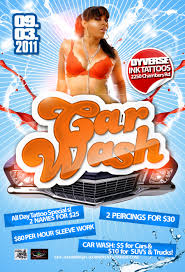 Car Wash Flyer By Numbaz On Deviantart