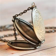 whole locket pendant necklace antique brass locket necklace with turquoise vintage style for her boyfriend girlfriend gift pendants necklaces gold