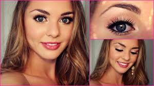 makeup tutorial 8 lovely grade 8 grad formal makeup tutorial bella thorne inspired