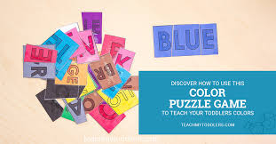 Great prices on color games. Color Games For Toddlers Printable Color Puzzles Teach My Toddlers