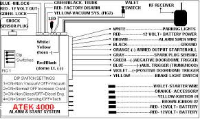 atek 4000 4800 remote starter installation manual