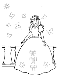 Small Picture Printable 14 Little Girl Princess Coloring Pages 10490 Zallie