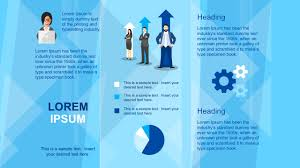 Templates For Brochure Business Brochure Powerpoint Template