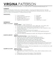 Resume Samples Customer Service Jobs Examples For Representative