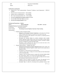 Stunning Peoplesoft Hrms Functional Consultant Resume Ideas