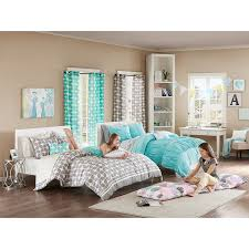 turquoise bedroom furniture. Amazon.com: Turquoise, Blue, Aqua Girls Full / Queen Comforter Set (4 Piece Bed In A Bag): Home \u0026 Kitchen Turquoise Bedroom Furniture H