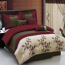 bed in a bag 7 or 11 piece set 3 color schemes option luxury bedding setsluxury