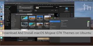 Mac Theme Download And Install Macos Mojave Gtk Themes On Ubuntu Technastic