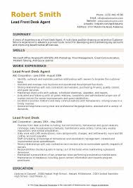 front desk agent resume sample front desk agent resume samples qwikresume