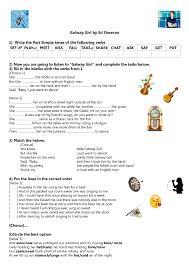 Worksheet: Galway Girl by Ed Sheeran