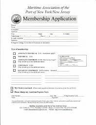 Application For Membership Membership Application Mapony Nj