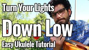 Lights Down Low Fingerstyle Bob Marley Turn Your Lights Down Low Ukulele Tutorial