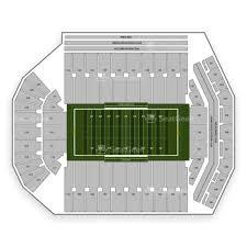 Kinnick Stadium Seating Chart Map Seatgeek