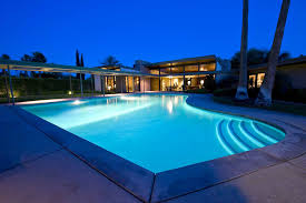 home swimming pools at night. Pools Swimming Pool Modern House With A Few Images At Night Plans Home I