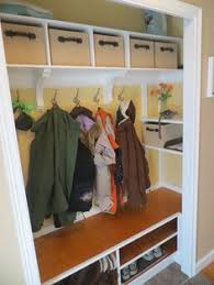 Image Elfa Would Like To Have Built In Shoe Storage In Our Utility Room Closet Katie Yurkewicz Entry Closet Ideas Pinterest 19 Best Front Hall Closet Organization Images Entryway Closet