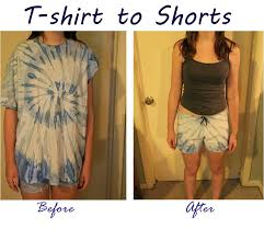 Make Your Shirt Make A Pair Of Comfy Shorts Out Of An Old T Shirt 5 Steps
