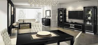 home office furniture mondital:  lastar living dining room furniture in high gloss black