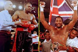 The night Lennox Lewis regained heavyweight title as Oliver McCall suffered  a mental breakdown and started crying mid-fight