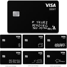 Visa Black Card Design