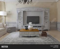 Molding For Living Room Luxury Living Room Provence Style Spacious Room With Plaster