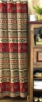laurel home shower curtain lodge rustic shower curtain cabin shower curtain rustic shower curtains laurel home