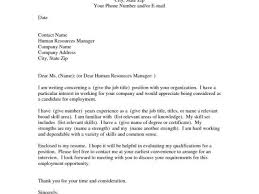 Free Resume Format Template With This Cover Letter Sample Shows How