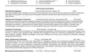 Mri Service Engineer Sample Resume Resumeustrial Engineer Sample Best Process Controls Example 23