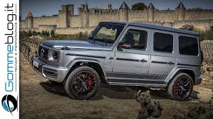 Specific amg front apron and amg radiator grille with black grille. 2019 G Class Mercedes G63 Amg Interior Exterior Off Road 2018 Suv Youtube