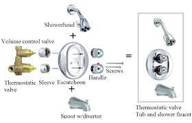 shower volume control valve 2 thermostatic valve volume control westbrass polished chrome shower arm volume control valve