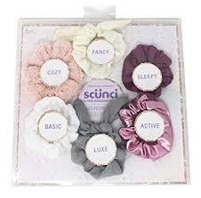 Original Scrunchies Style Collection Gift Set, 6 pcs ... - Amazon.com