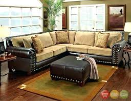 tan sectional with chaise post tan leather sectional with chaise