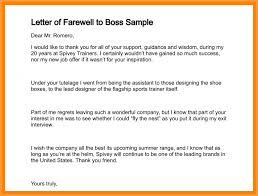 7 Boss Leaving Letter Types Of Letter
