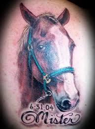 Tetování Koně Fotogalerie Motivy Tetování