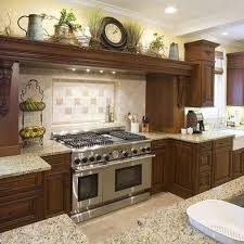 MediterraneanStyle Kitchens Millard Townhouse Ideas Pinterest Simple Decorating Above Kitchen Cabinets