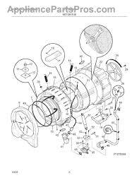 frigidaire 137043000 drive motor appliancepartspros com part diagram