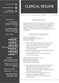 Basic Skills For A Resume Clerical Worker Resume Example Writing Tips Resume Genius