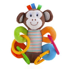 Playgro Activity Toy Nuby Monkey Clement