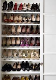 Elegant Closet Shoe Storage Shoe Storage Design Ideas
