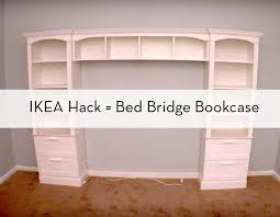 In lieu of a headboard in my bedroom I want the built in bookcase look.