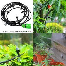 garden irrigation system. DIY Micro Garden Irrigation System Watering Tube Hose Pipe 10m/20m