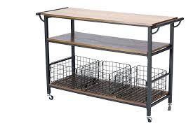 kitchen island cart wooden trolley carts islands utility tables with chairs wire bamboo top chrome isla