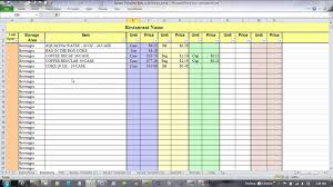 Excel Templates For Inventory Using Excel For Recipe Costing And Inventory Linking YouTube 9