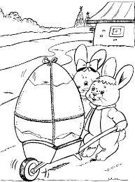 Coniglietti Di Pasqua Simpatici Da Colorare Disegno Di Pasqua Da