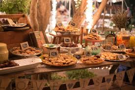 Wedding Food Tables Diy Backyard Bbq Wedding Reception