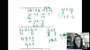 alg 1a u4 l4 solving multi step inequalities