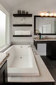 Large White Soaker Tub in Keller, Texas Home.