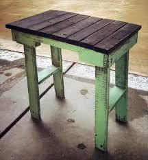 diy end table plans build pallet furniture plans