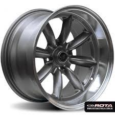 rota wheels 4x100. rota rb 15x8 4x100 et30 silver with polished lip set of 4 wheels s